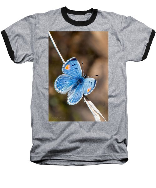 Baseball T-Shirt featuring the photograph Sonoran Blue by Jim Thompson