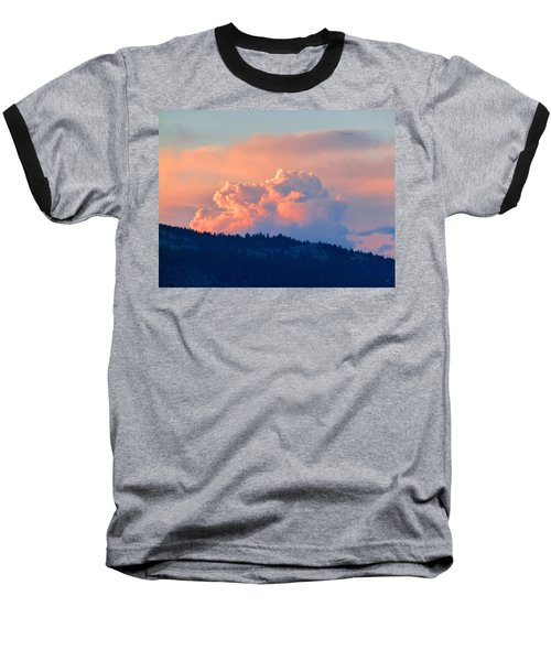 Soothing Sunset Baseball T-Shirt by Will Borden
