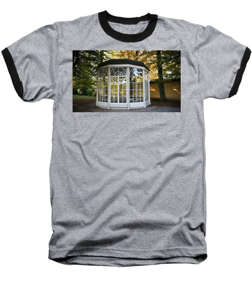 Baseball T-Shirt featuring the photograph Sound Of Music Gazebo by Silvia Bruno