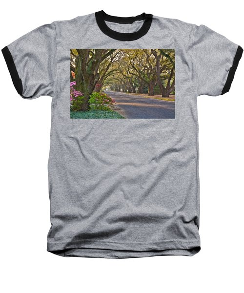 South Boundary In Spring Baseball T-Shirt