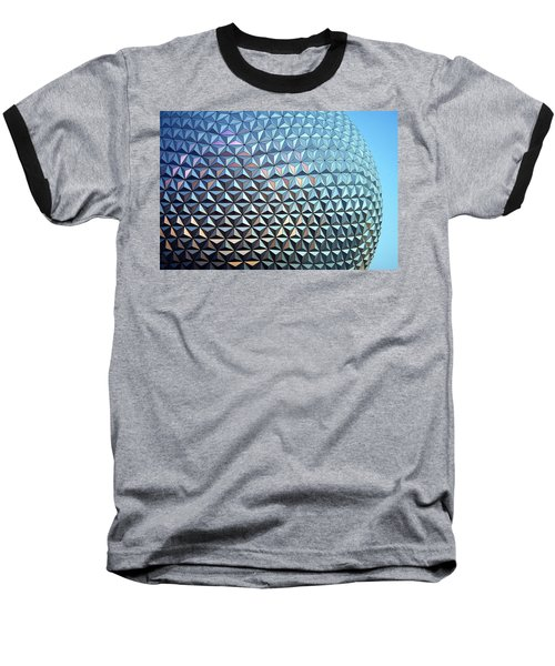 Baseball T-Shirt featuring the photograph Spaceship Earth by Cora Wandel