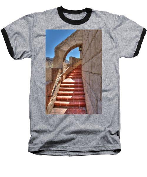 Spanish Steps Baseball T-Shirt