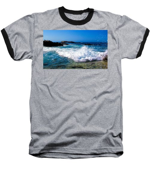 Surf's Up Baseball T-Shirt by Tammy Espino