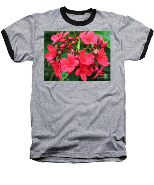 Lovely Spring Flowers Baseball T-Shirt