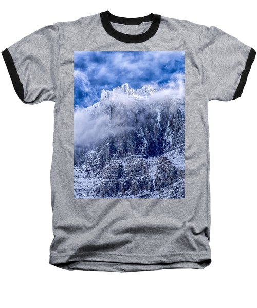 Baseball T-Shirt featuring the photograph Stone Cold by Aaron Aldrich