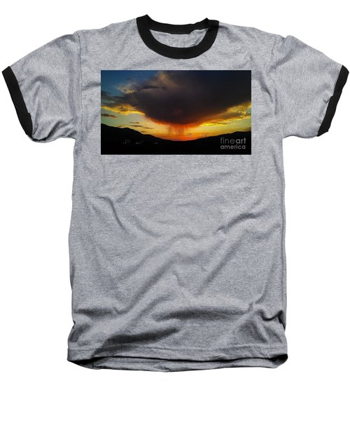 Baseball T-Shirt featuring the photograph Storms Coming by Chris Tarpening