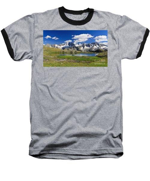 Baseball T-Shirt featuring the photograph Strino Lake - Italy by Antonio Scarpi