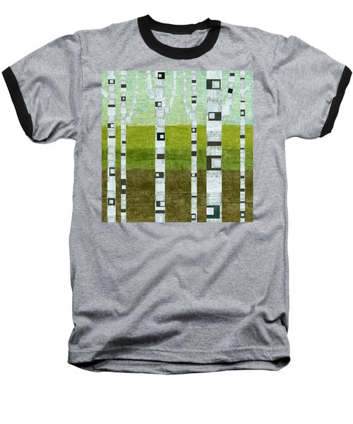 Summer Birches  Baseball T-Shirt