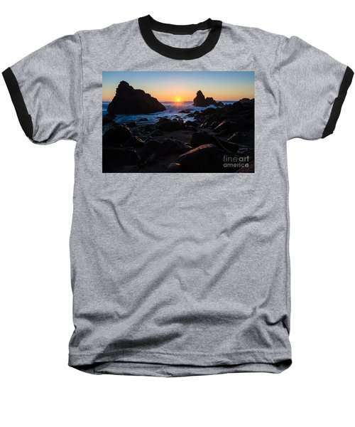 Baseball T-Shirt featuring the photograph Sun Kissed by CML Brown