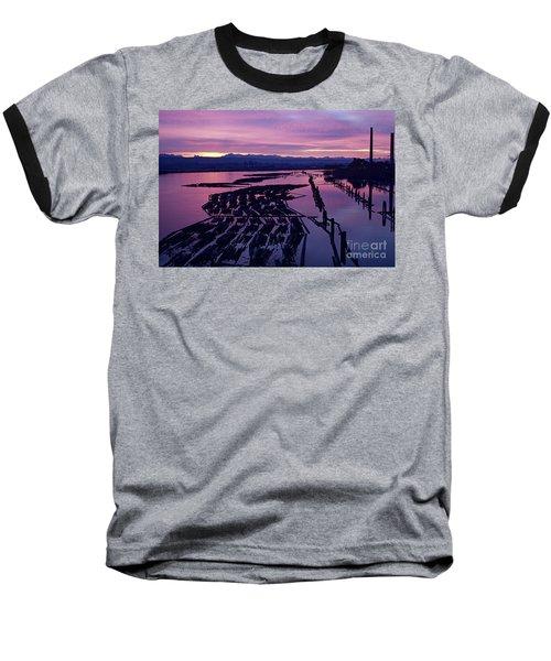Sunrise Lumber Mill Baseball T-Shirt