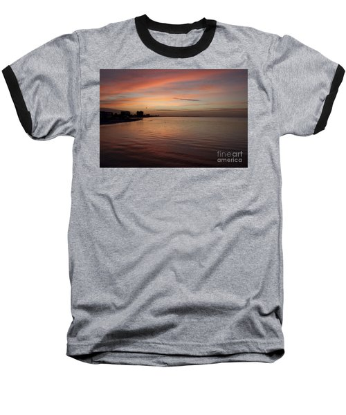 Baseball T-Shirt featuring the photograph Sunrise Over Fort Myers Beach Photo by Meg Rousher
