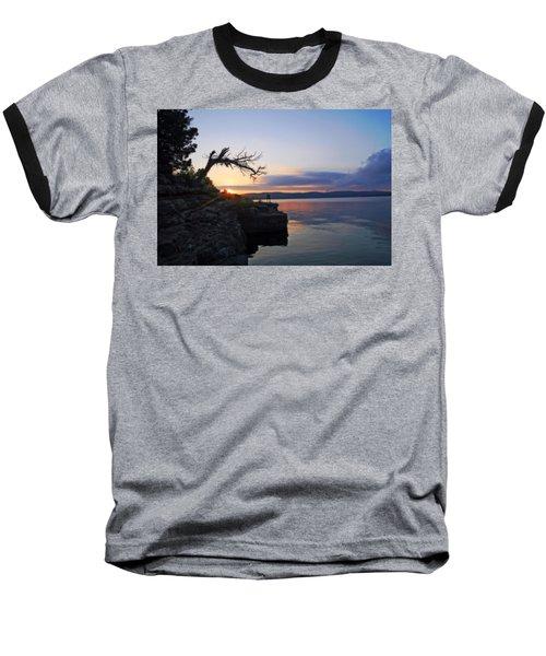 Sunrise Over Table Rock Lake Baseball T-Shirt