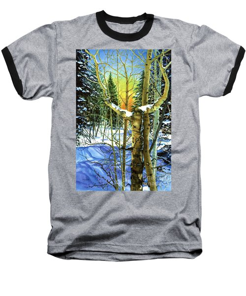 Baseball T-Shirt featuring the painting Supplication-psalm 28 Verse 2 by Barbara Jewell