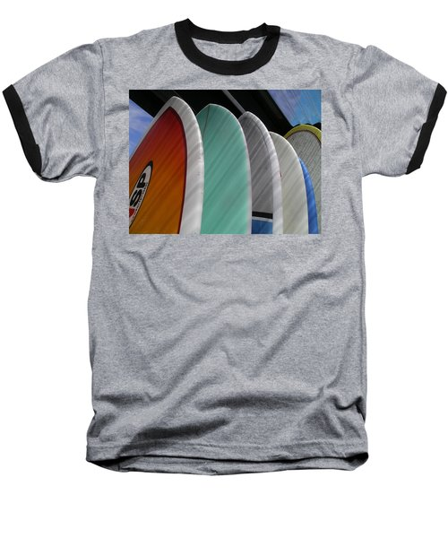 Surf Break Baseball T-Shirt