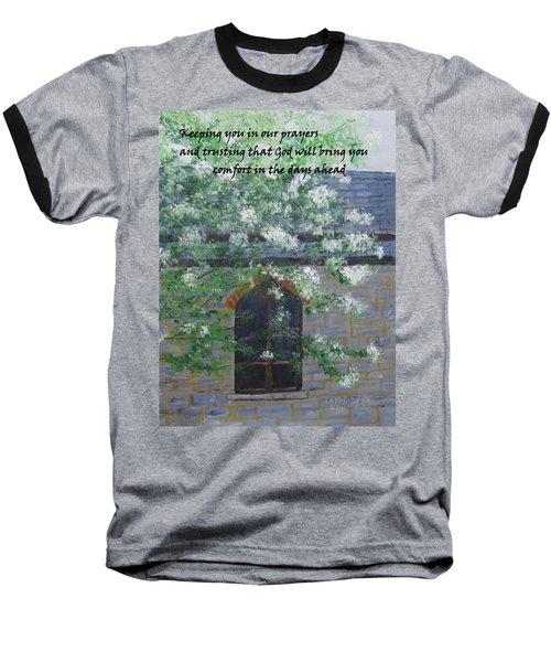 Sympathy Card With Church Baseball T-Shirt
