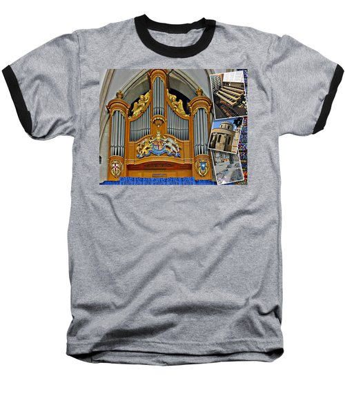 Temple Church London Baseball T-Shirt