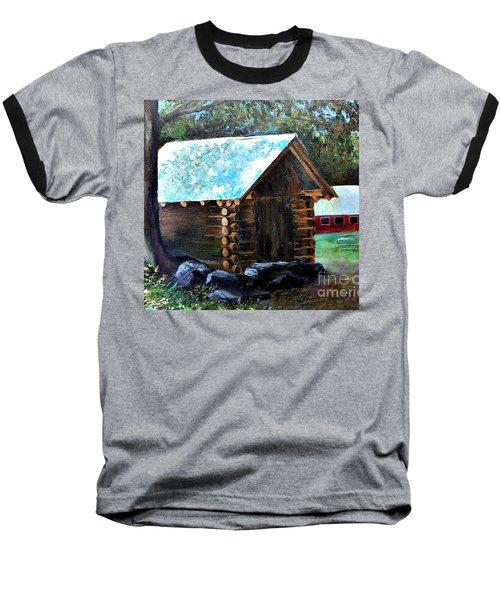 Tessentee Cabin Baseball T-Shirt