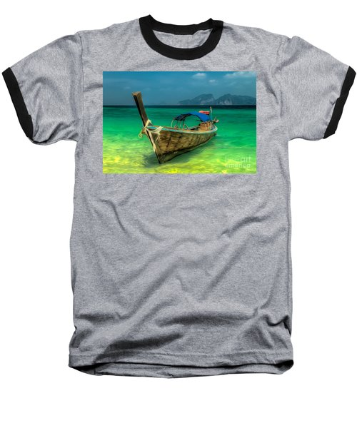 Thai Longboat Baseball T-Shirt