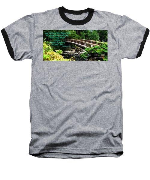 The Bible Romans 15 13 Baseball T-Shirt