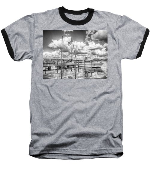 Baseball T-Shirt featuring the photograph The Boat by Howard Salmon
