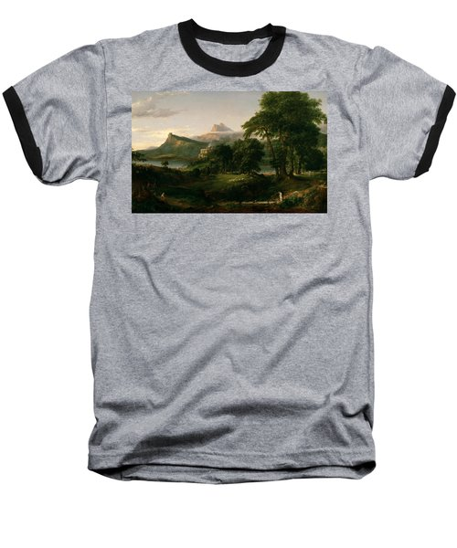 The Course Of Empire The Arcadian Or Pastoral State Baseball T-Shirt