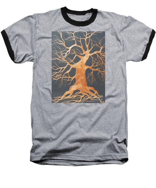 The Dance Baseball T-Shirt by Dan Whittemore
