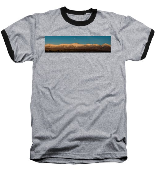 The Presidential Range White Mountains New Hampshire Baseball T-Shirt