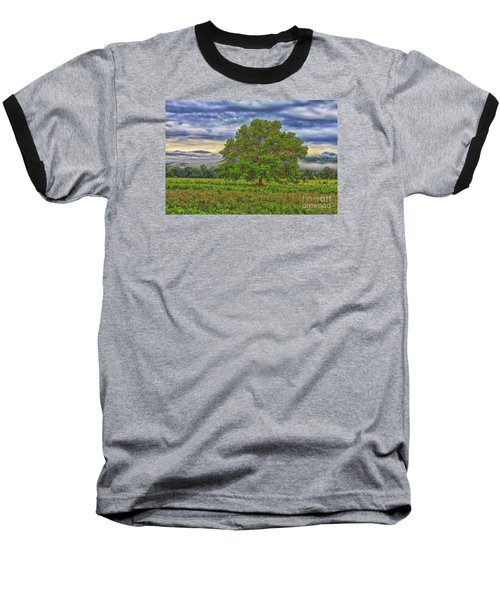 Baseball T-Shirt featuring the photograph The Tree by Geraldine DeBoer