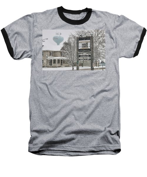 The Whitehouse Inn Sign 7034 Baseball T-Shirt by Jack Schultz