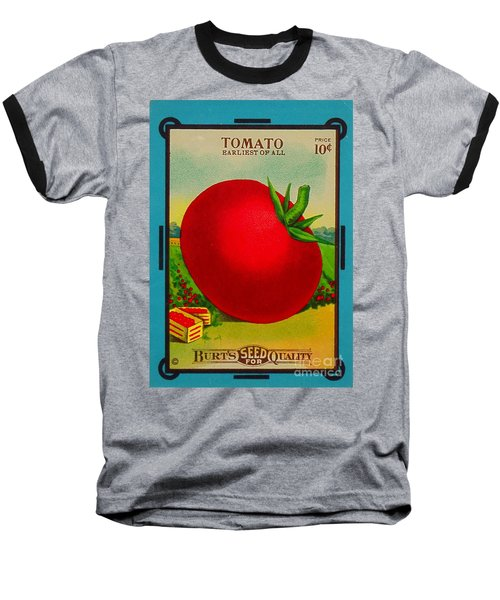 Tomato Seed Package. Antique. 100 Years Old Baseball T-Shirt