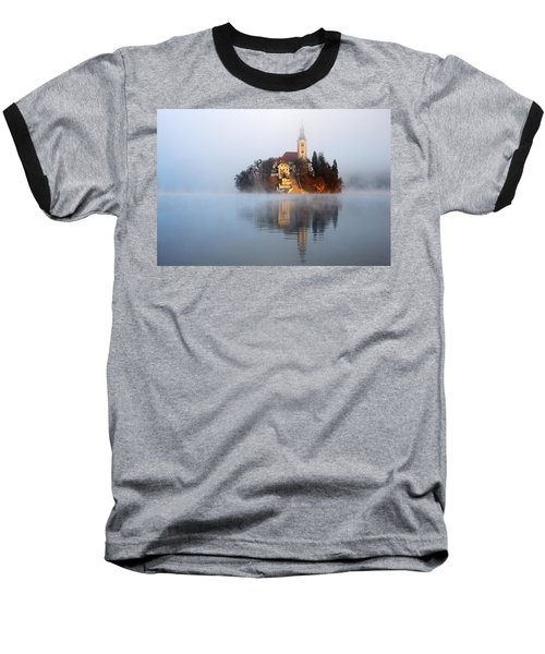 Through The Mist Baseball T-Shirt