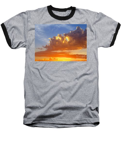Baseball T-Shirt featuring the photograph To God Be The Glory by Robert Pearson