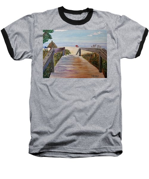 To The Beach Baseball T-Shirt