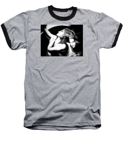 Baseball T-Shirt featuring the photograph Together by Newel Hunter