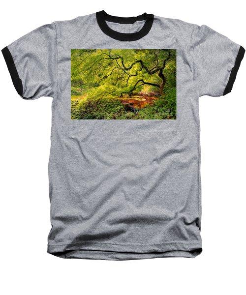 Tranquil Shade Baseball T-Shirt