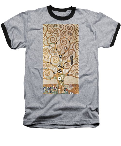 Tree Of Life Baseball T-Shirt by Gustav Klimt
