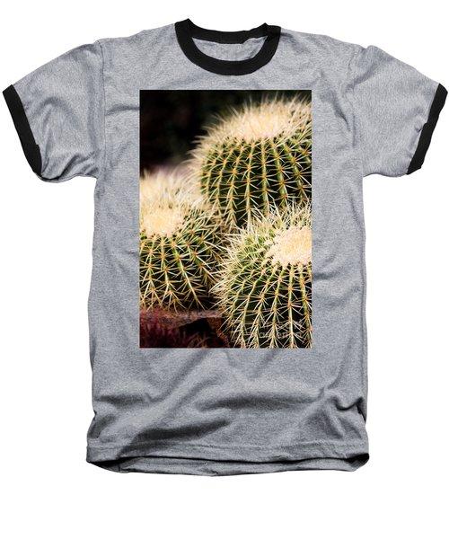 Triple Cactus Baseball T-Shirt