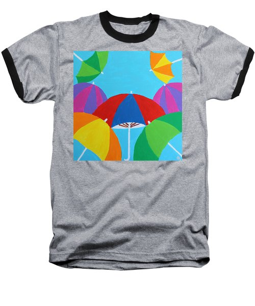 Umbrellas Baseball T-Shirt