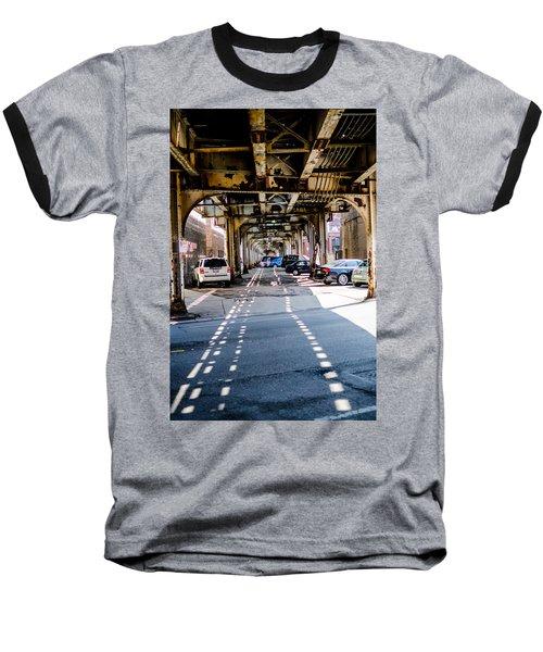 Under The L Tracks Baseball T-Shirt