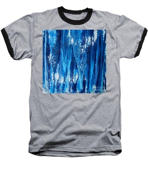 Snow Fall Baseball T-Shirt