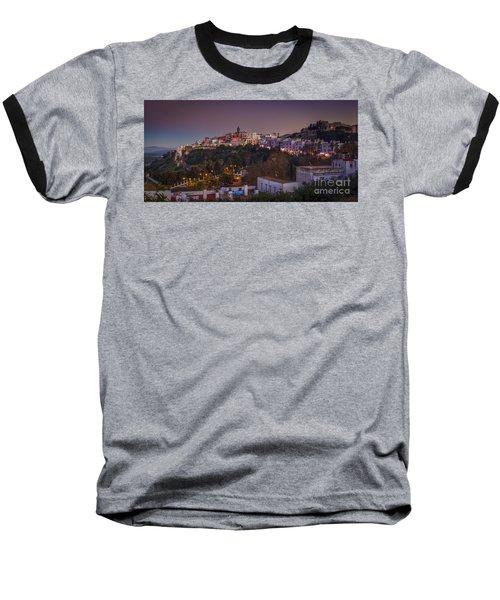 Vejer De La Frontera Panorama Cadiz Spain Baseball T-Shirt