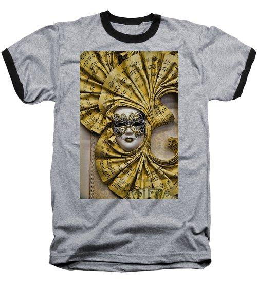 Venetian Carnaval Mask Baseball T-Shirt