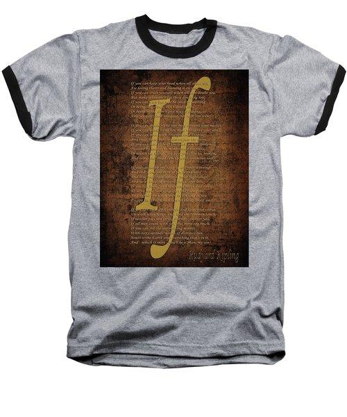 Vintage Poem 3 Baseball T-Shirt
