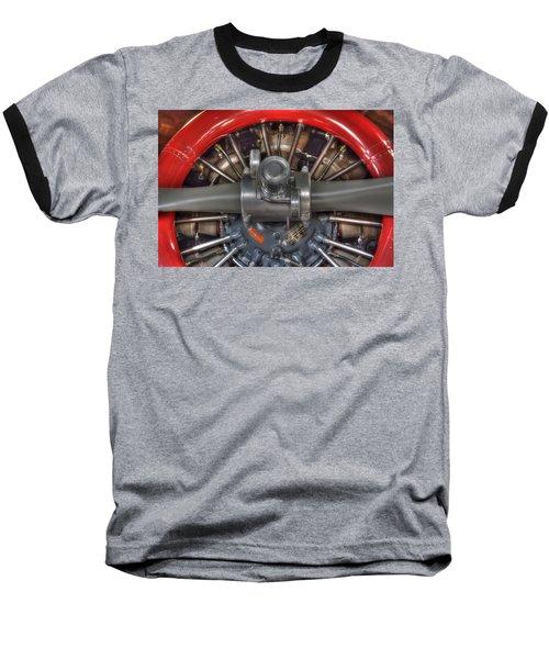 Vultee Bt-13 Valiant Propeller Baseball T-Shirt