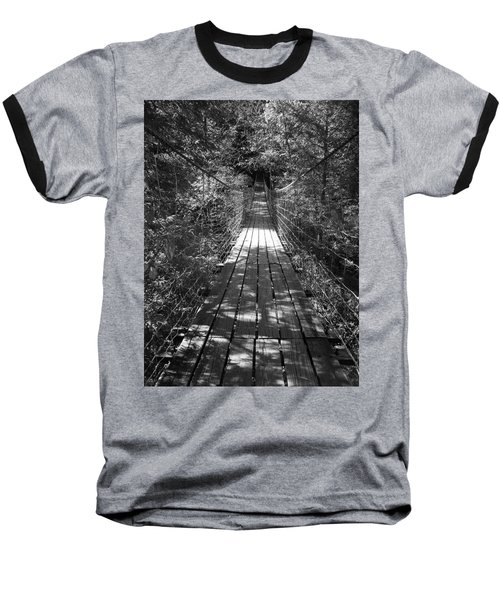 Walk Through Woods Baseball T-Shirt