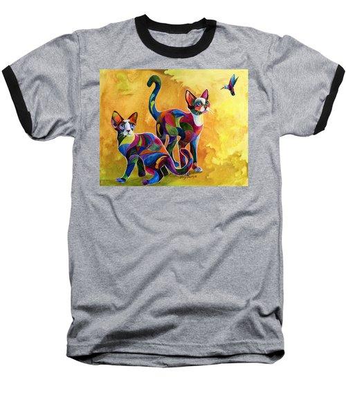 Watch The Birdie Baseball T-Shirt