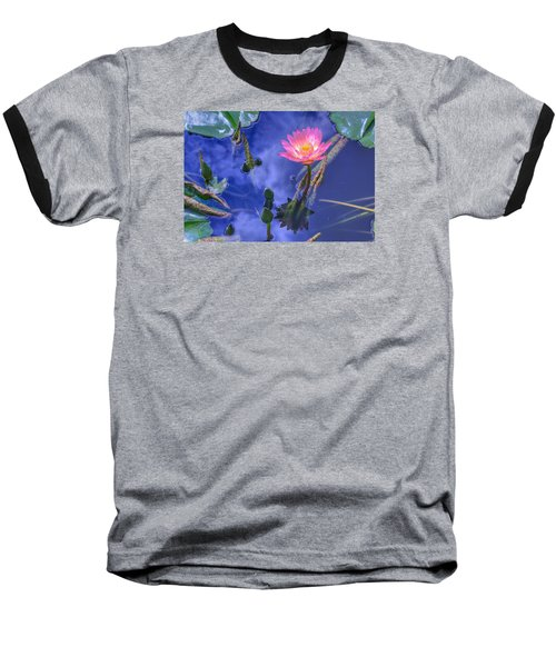 Flower 7 Baseball T-Shirt