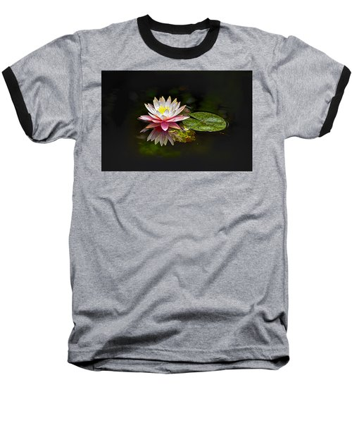 Water Lily Baseball T-Shirt by Bill Barber
