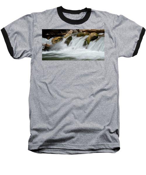 Waterfall - Zion National Park Baseball T-Shirt