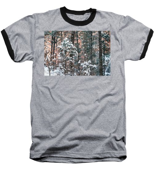 West Fork Snow Baseball T-Shirt